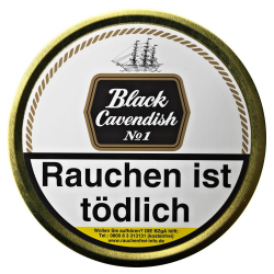 Black Cavendish Nº1 100g
