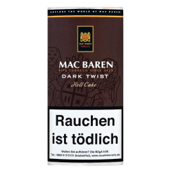 Mac Baren Dark Twist Roll Cake 50g