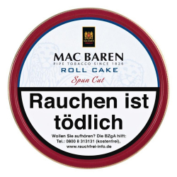 Mac Baren Roll Cake Spun Cut100g