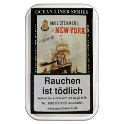 Ocean Liner Series Mail Steamers to New York 100g