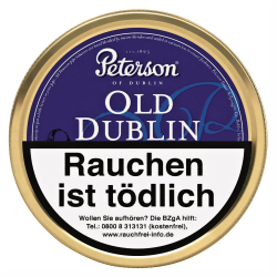 Peterson of Dublin Old Dublin Latakia 50g