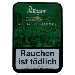 Peterson of Dublin Special Reserve Limited Edition 2019 100g