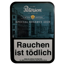 Peterson of Dublin Special Reserve Limited Edition 2020 100g