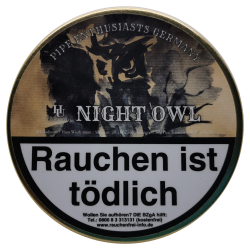 Pipe Enthusiasts Germany Night OWL 50g
