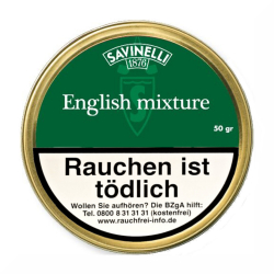 Savinelli 1876 Grün English Mixture 50g