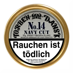 Torben Dansk No.14 Navy Cut Virginia Flake 50g