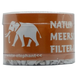 White Elephant Natur Meerschaum Filter Granulat 175ml/DS