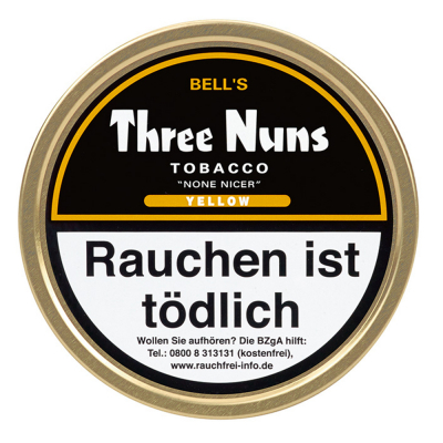 Bell's Three Nuns Yellow Tobacco None Nicer 50g