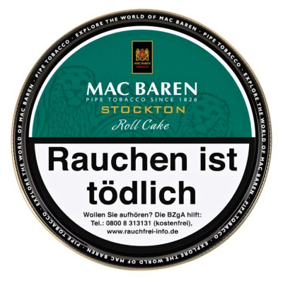 Mac Baren Stockton Roll Cake 100g