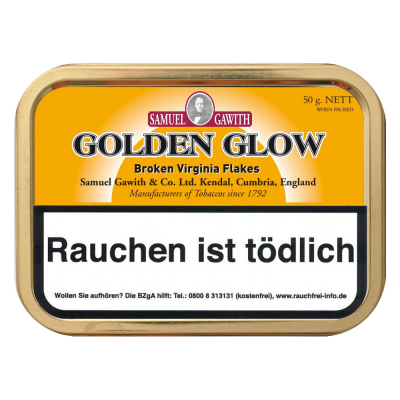 Samuel Gawith Golden Glow Flake 50g
